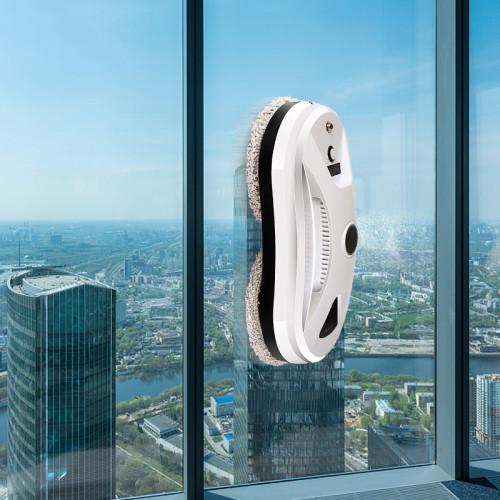 Indoor and outdoor round intelligent window cleaning robot