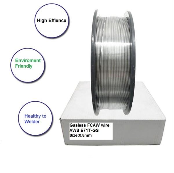 Mild Steel Gasless Flux Cored Welding MIG Wire AWS E71T-GS