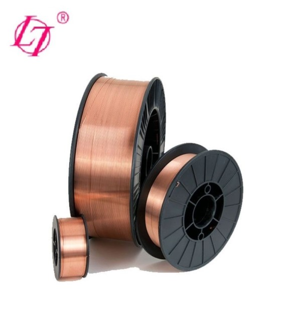CO2 GAS SHIELDED MILD STEEL MIG MAG SOLID WELDING WIRE AWS ER70S-6 15KGS PER SPOOL