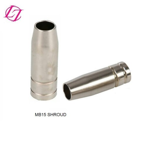MB15 MIG Torch welding consumables kits Conical Shroud nozzle contact tips tip holder