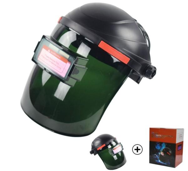 Hot Selling Simple design Auto Darkening Welding Helmet Solar powered auto darkening welding hood