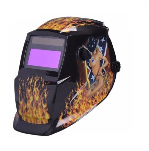 Sexy Series Eye catching Auto Darkening Welding Helmet Solar powered auto darkening welding hood