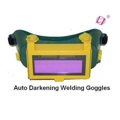 Auto Darkeing Welding Goggles Flip-up solar powered Auto Darkening Welding mask