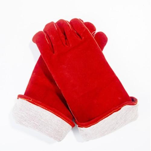 WELDERS GAUNTLETS WELDING GLOVES 14 inch heat resistant leather welders gloves