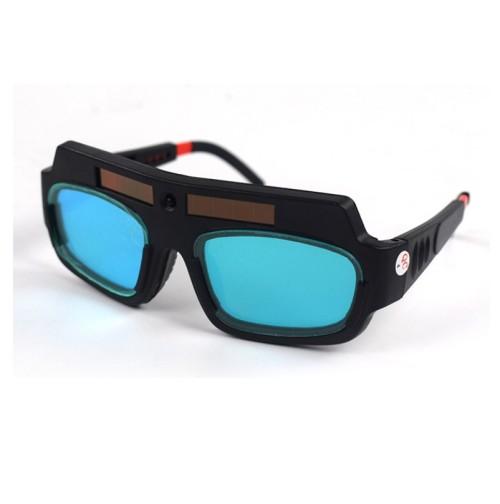 Welding Glasses Mask Helmet Eyes Goggles, Solar Auto Darkening Welding Goggle Safety Protective Eyes Goggle