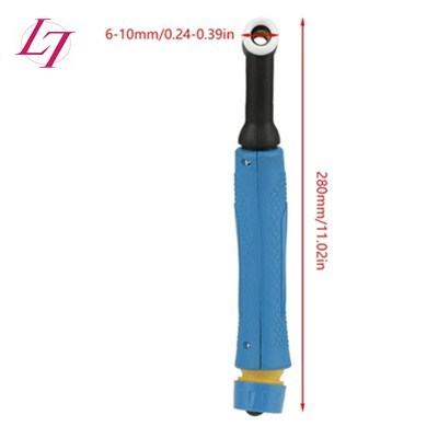 WP-18 TIG Welding Torch Head Body Flexible Head Body with Switch Button 350Amps Water Cooled Welding Accessory