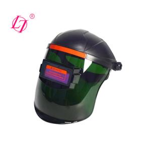 Light Weight Solar Powered Hood Auto Darkening Welding Helmet with Sensitive Delay Shade Adjustable 4/9-13 for MIG TIG ARC Weld