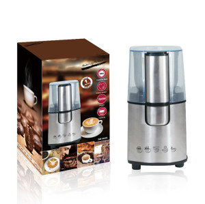 new design stainless steel professional electric home coffee grinder