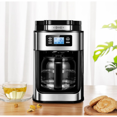Factory direct supply domestic coffee machine drip type coffee maker tea maker with mesh filter