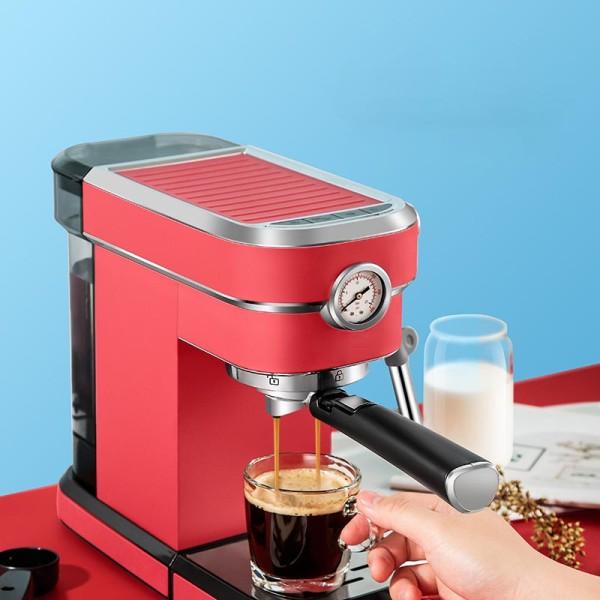 ماكينة صنع قهوة اسبريسو الكهربائية شبه الأوتوماتيكية الأكثر مبيعًا للاستخدام المنزلي