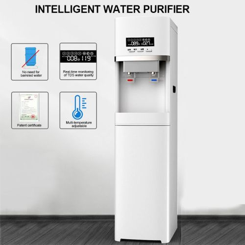RO system hot cold standing digital refrigerator commercial water dispenser