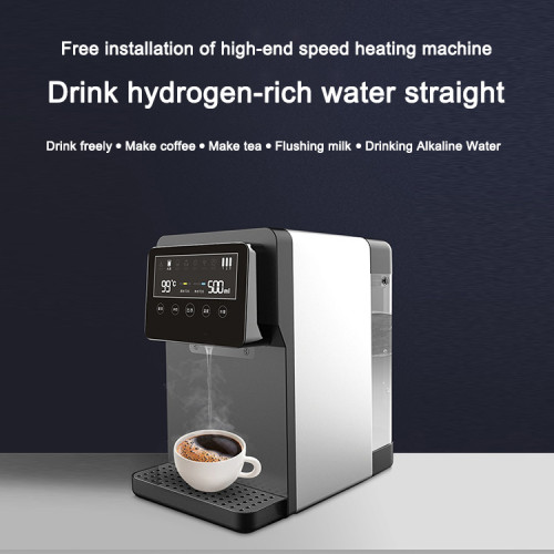 low cost water dispenser hydrogen ro water purifier with compact reverse osmosis water purification system