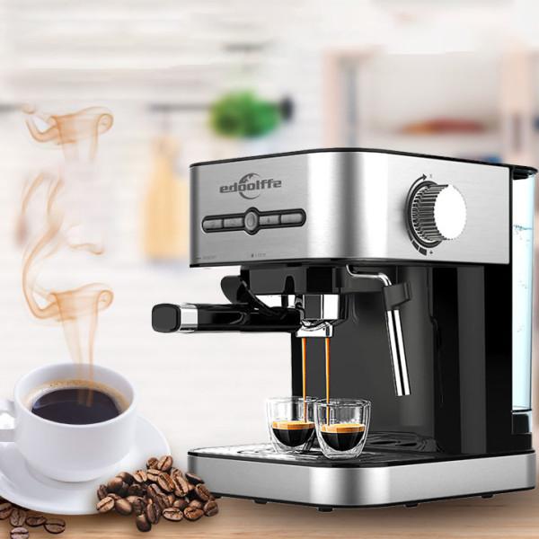 15 بار آلة اسبريسو مع الحليب بالبخار صنع القهوة لاتيه