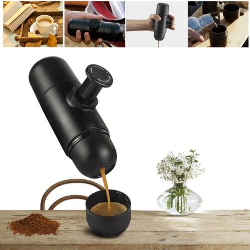 portable coffee machine espresso coffee maker outdoor travel hand capsule coffee nespresso
