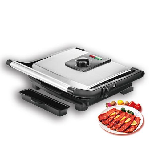 grilled steak pani sandwich machine smokeless meat bbq electric rotating grill