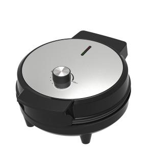 portable non stick plate adjustable temperature cone egg waffle machine