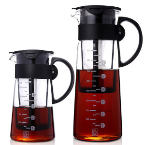 Portable cold brew iced coffee maker tea