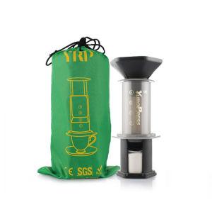 Factory price outdoor portable hand manual espresso french press coffee tea maker