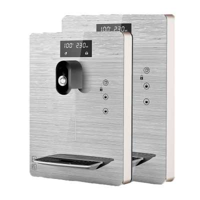 Stainless Steel hot and cold wall mounted water dispenser for Restaurant Tea Coffee