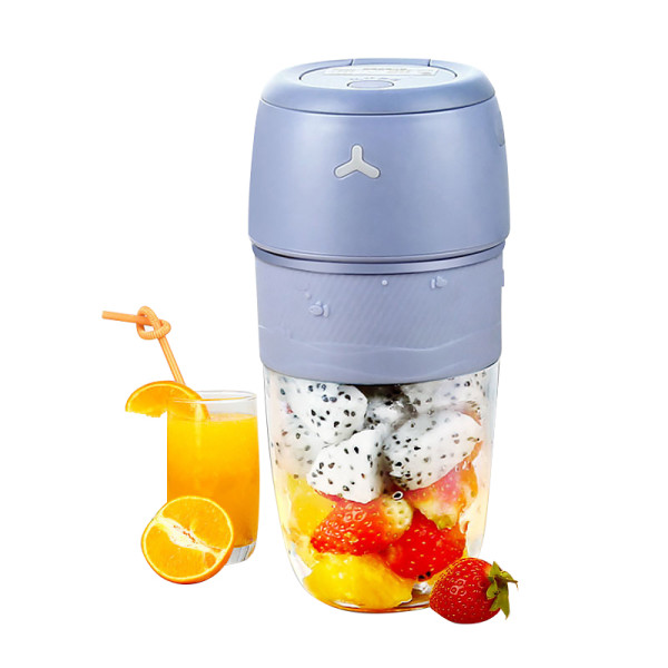4 blades 300ml mini blender cup rechargeable fruit and vegetable juicer machine