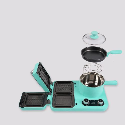 hot sale new multi-functional electric 4 in 1 breakfast machine