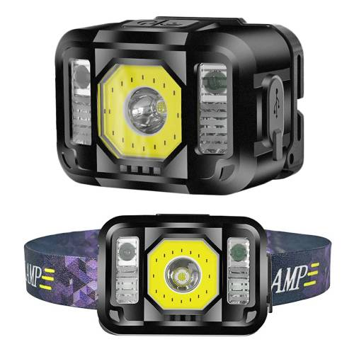 Fantastic design, smart LED Sense Head Lamp for Mountaineering,Night fishing & Camping
