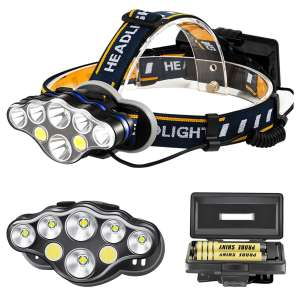 High power LED Headlamp,long distance of lighting, for Mountaineering,Night fishing & Wild exploration