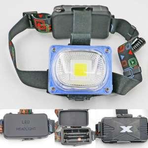 Faros LED de alta potencia, iluminación de larga distancia, utilizados para montañismo, pesca nocturna y exploración salvaje