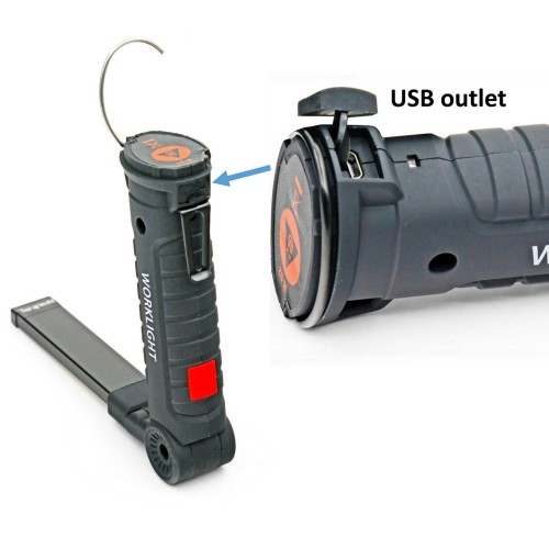 Smart & High brightness working light for a wide range of uses
