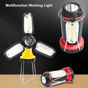 Multifunction working light for a wide range of uses