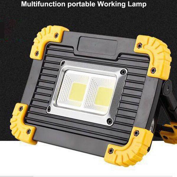 Luz de trabajo de alta potencia y alto brillo para una amplia gama de usos