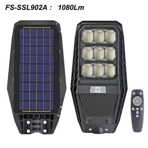 High Power & High brightness Solar Street Lights with sensor & remote control for a wide range of uses
