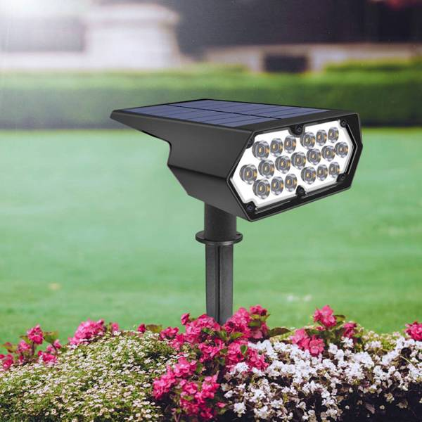 Luces de jardín solares de alta calidad y alto brillo para brindarle un mundo maravilloso