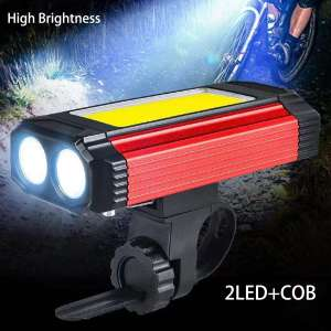 High Power & High brightness LED bicycle lights for a wide range of uses