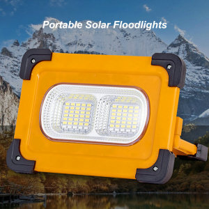 Proyectores solares de alta potencia y alto brillo con reproductor Bluetooth para una amplia gama de usos