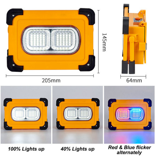 High Power & High brightness Solar Floodlights with Bluetooth Player for a wide range of uses