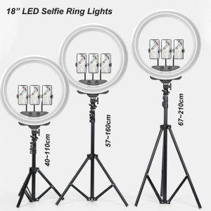Luces LED de anillo para selfies de alta potencia y alta calidad para una amplia gama de usos