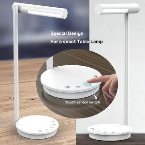 La lámpara de mesa LED inteligente de alto brillo y alta calidad le brinda una experiencia completamente nueva