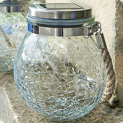 High quality & High brightness Solar Glass Jar Lamp for a wide range of usage
