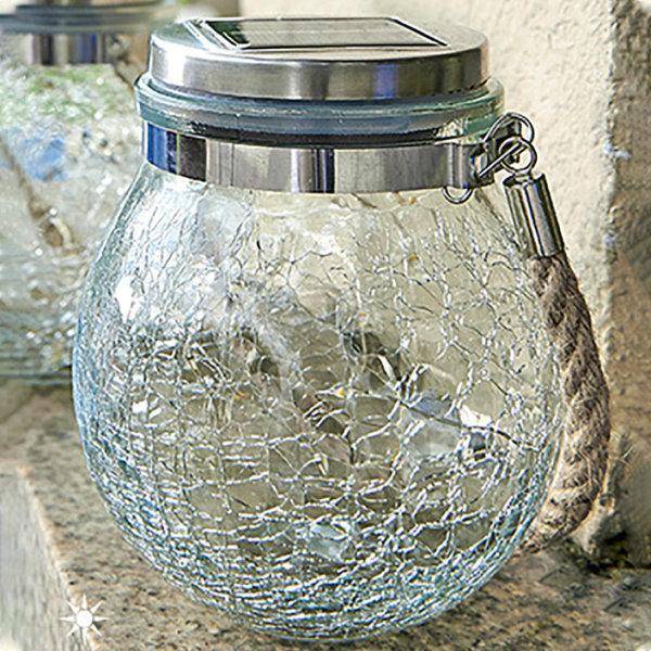 Lámpara de tarro de vidrio solar de alta calidad y alto brillo para una amplia gama de usos