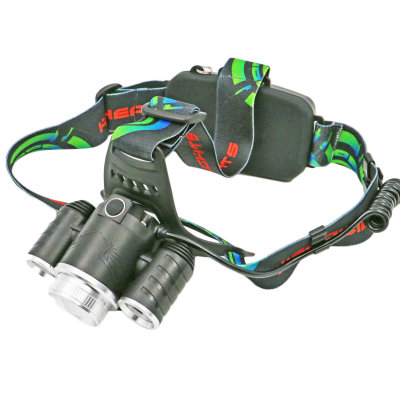 Multifunctional LED headlights, long-distance lighting, used for mountain climbing, night fishing and wild exploration