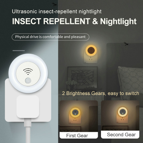 High quality & Smart Ultrasonic insect-repellent nightlight take a more better life for you.