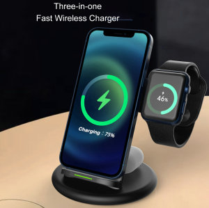 Multifunctional,neoteric,technological & intelligent wireless charger bring you into the age of intelligence.