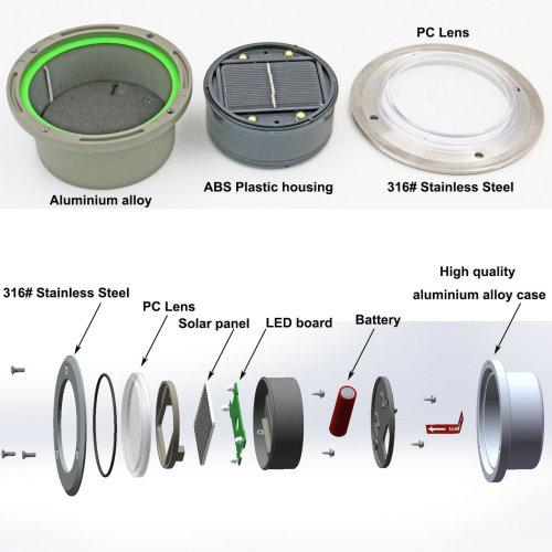 Solar Underground Lights, high quality & High brightness Solar Underground Lights for a wide range of uses