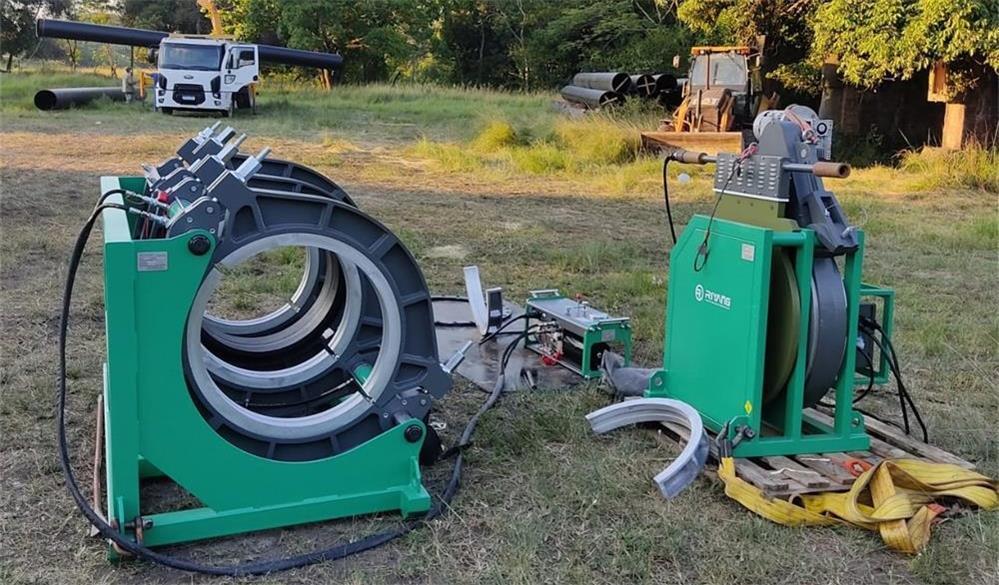 the basic principle of the PE butt welding machine