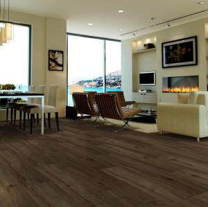 Ultrasurface Wholesale Glue Down Luxury Vinyl Plank Flooring Dark Dryback LVT Flooring 7''x48'' 100MOQ