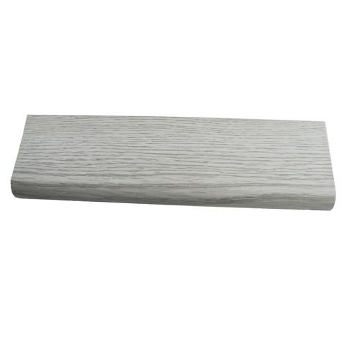 Ultrasurface Vinyl Flooring Accessories SPC Skirting 60 Baseboard Moulding  94.5in.x2.3in.x0.47in.