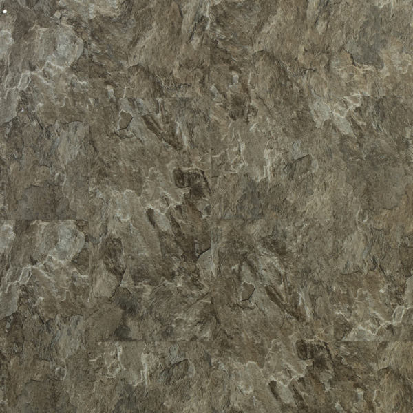 Ultrasurface Luxury Vinyl Plank Stone Look 18''x18'' 4.0mm/0.3mm Easy Clean