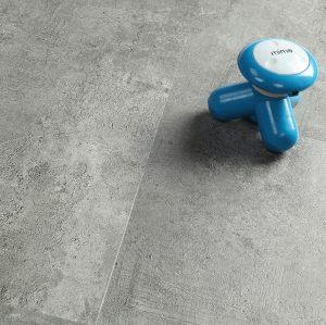 Ultrasurface Luxury Vinyl Plank Stone Look 12''x24'' 4.0mm/0.3mm Low Maintenance