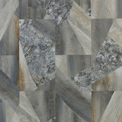 Ultrasurface Luxury Vinyl Plank Stone Look 12''x36'' 5.0mm/0.3mm Easy Installation